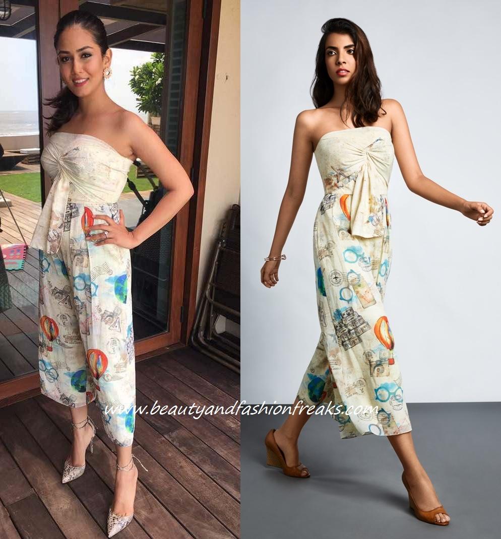 Mira Rajput In Ritika Bharwani At Vogue Beauty Awards