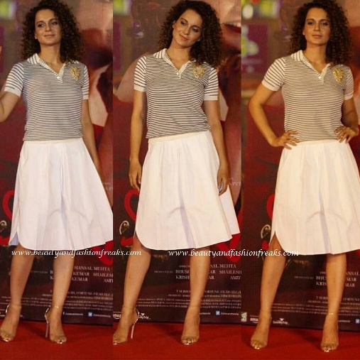 Kangana Ranaut In Dior at Trailer launch of Simran