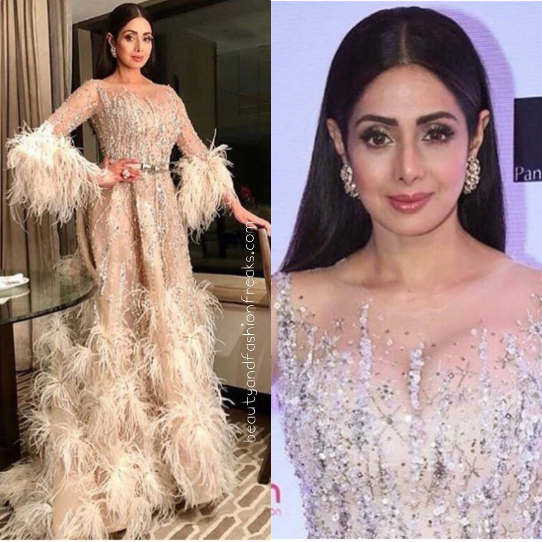 Fashion Beauty Awards 2017: Sridevi In Ziad Nakad At Filmfare Glamour And Style Awards